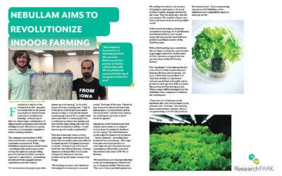 Nebullam Aims to Revolutionize Indoor Farming