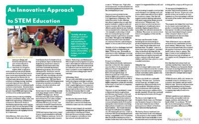 An Innovative Approach to STEM Education